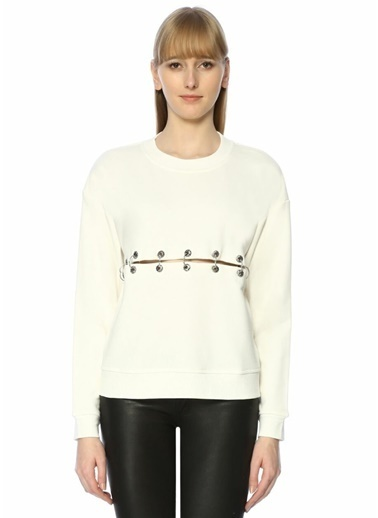 The Kooples Sweatshirt Ekru